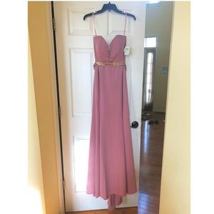 Windsor Mauve Sweetheart Belted Gown